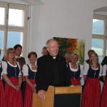 Vernissage 2015 , Generalvikar  Msg. Dr.Engelbert Guggenberger