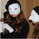 Masken mir Ruth Hanko